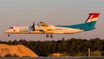 LX-LQD - Luxair de Havilland Canada DHC-8-402Q Dash 8 aircraft