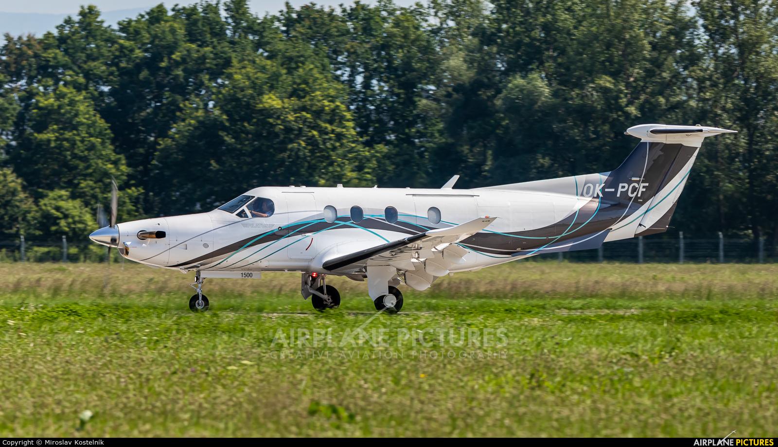 Private OK-PCF aircraft at Ostrava Mošnov