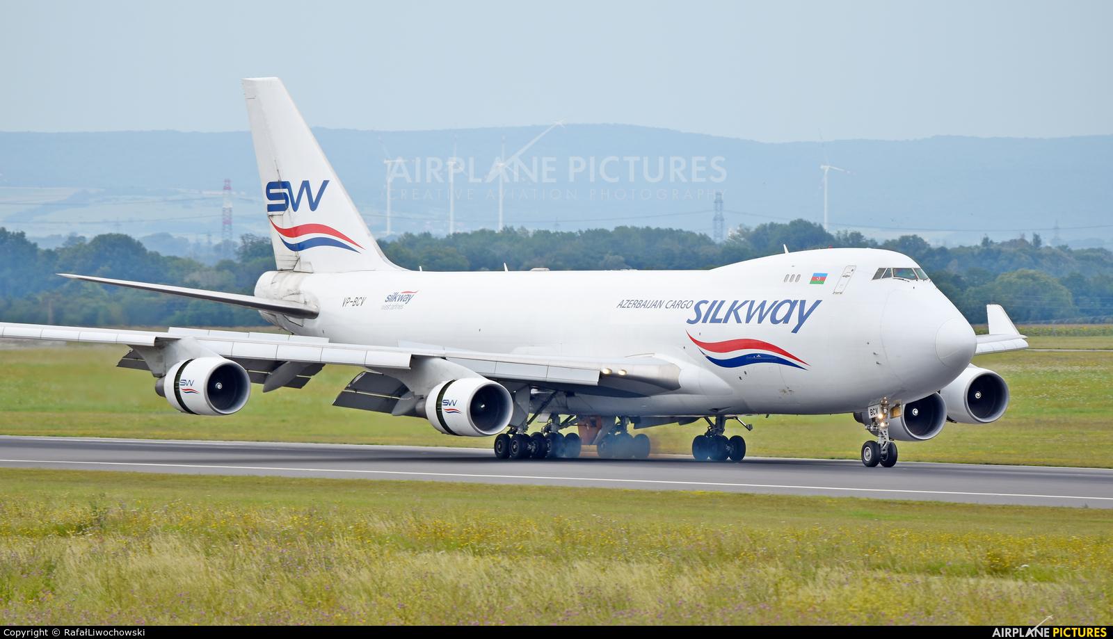 Silk Way Airlines VP-BCV aircraft at Vienna - Schwechat