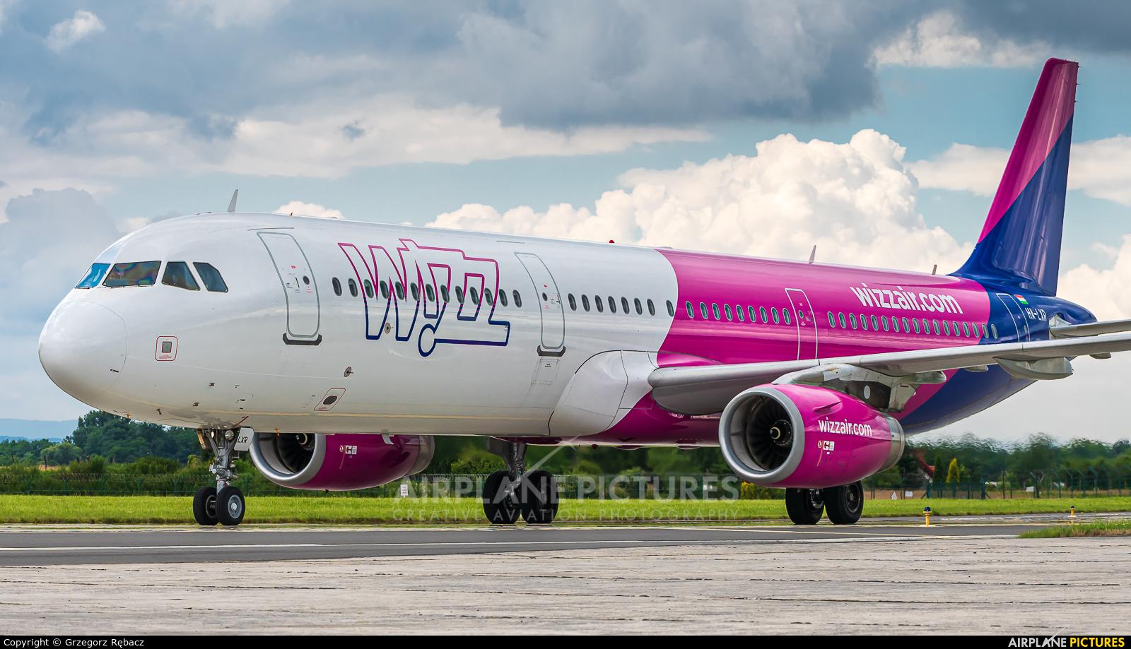 Wizz Air HA-LXR aircraft at Kraków - John Paul II Intl