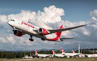 Avianca Boeing 787 visited Zurich title=