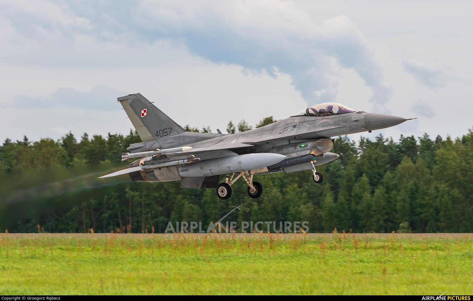 Poland - Air Force 4057 aircraft at Łask AB