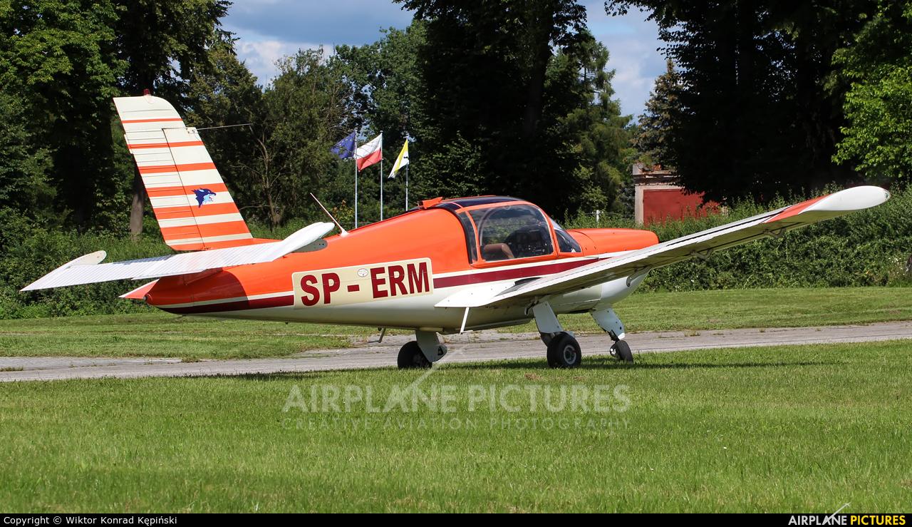 Private SP-ERM aircraft at Kielce Masłów