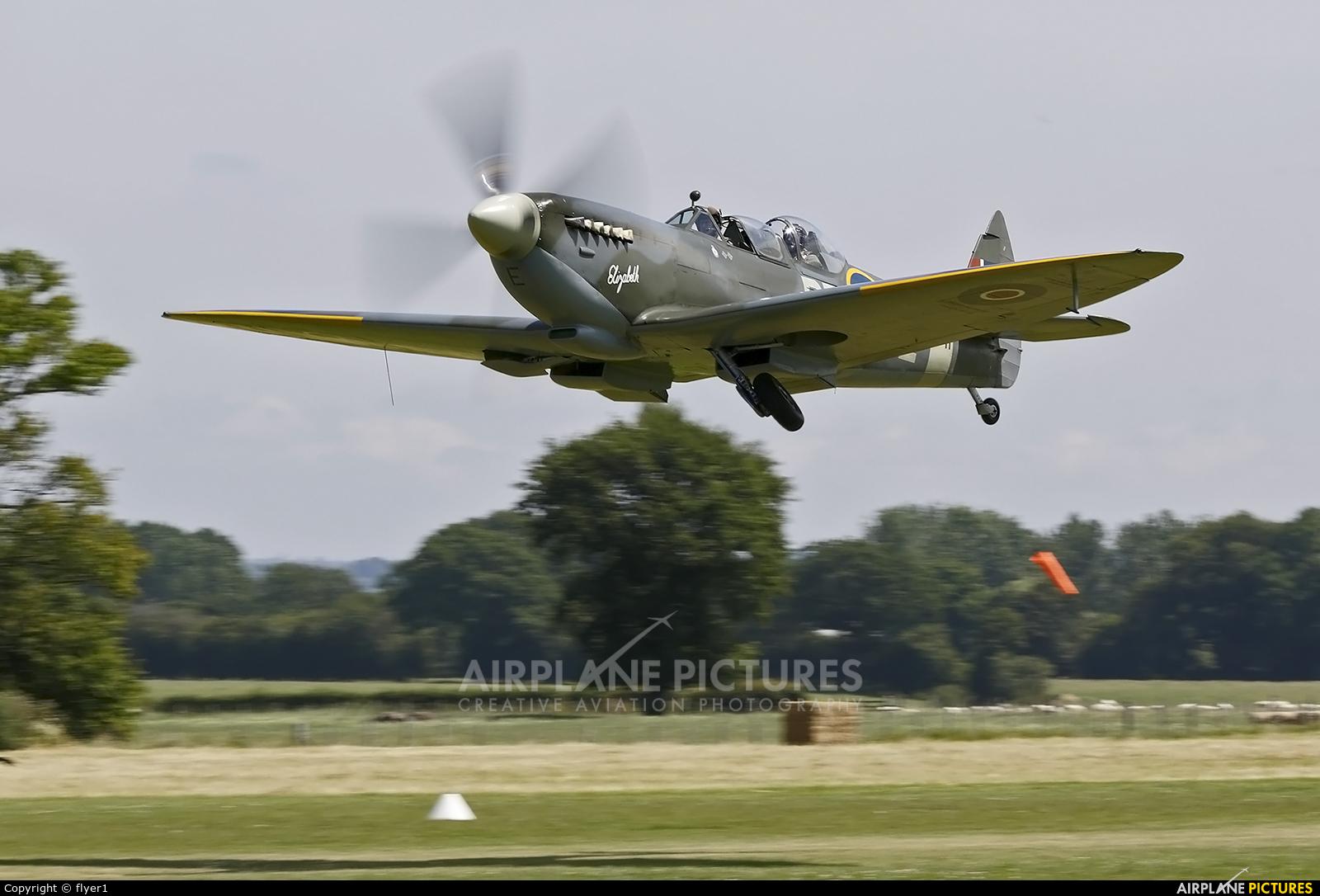 Aero Legends G-CICK aircraft at Lashenden / Headcorn
