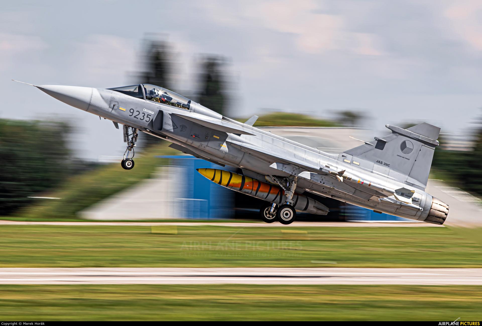 Czech - Air Force 9235 aircraft at Pardubice