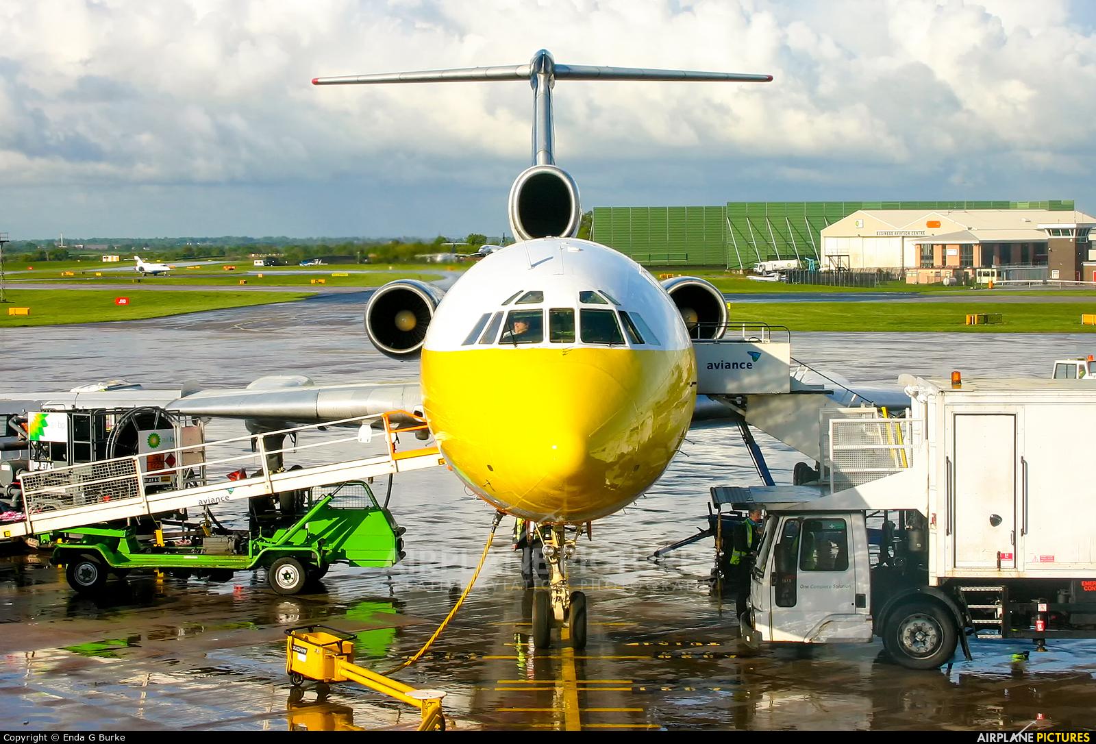 Balkan Holidays Air LZ-HMI aircraft at Manchester