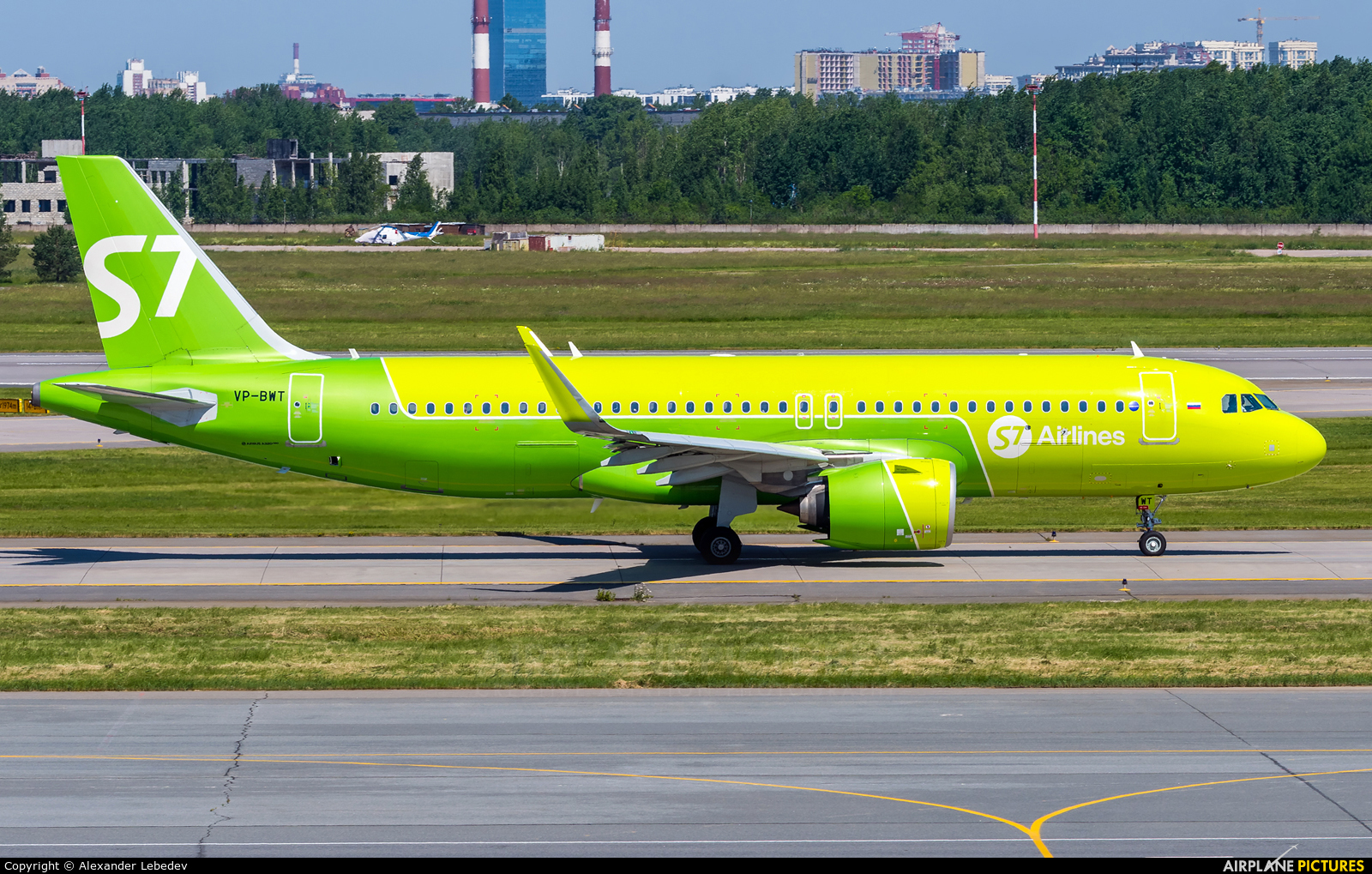 S7 Airlines VP-BWT aircraft at St. Petersburg - Pulkovo