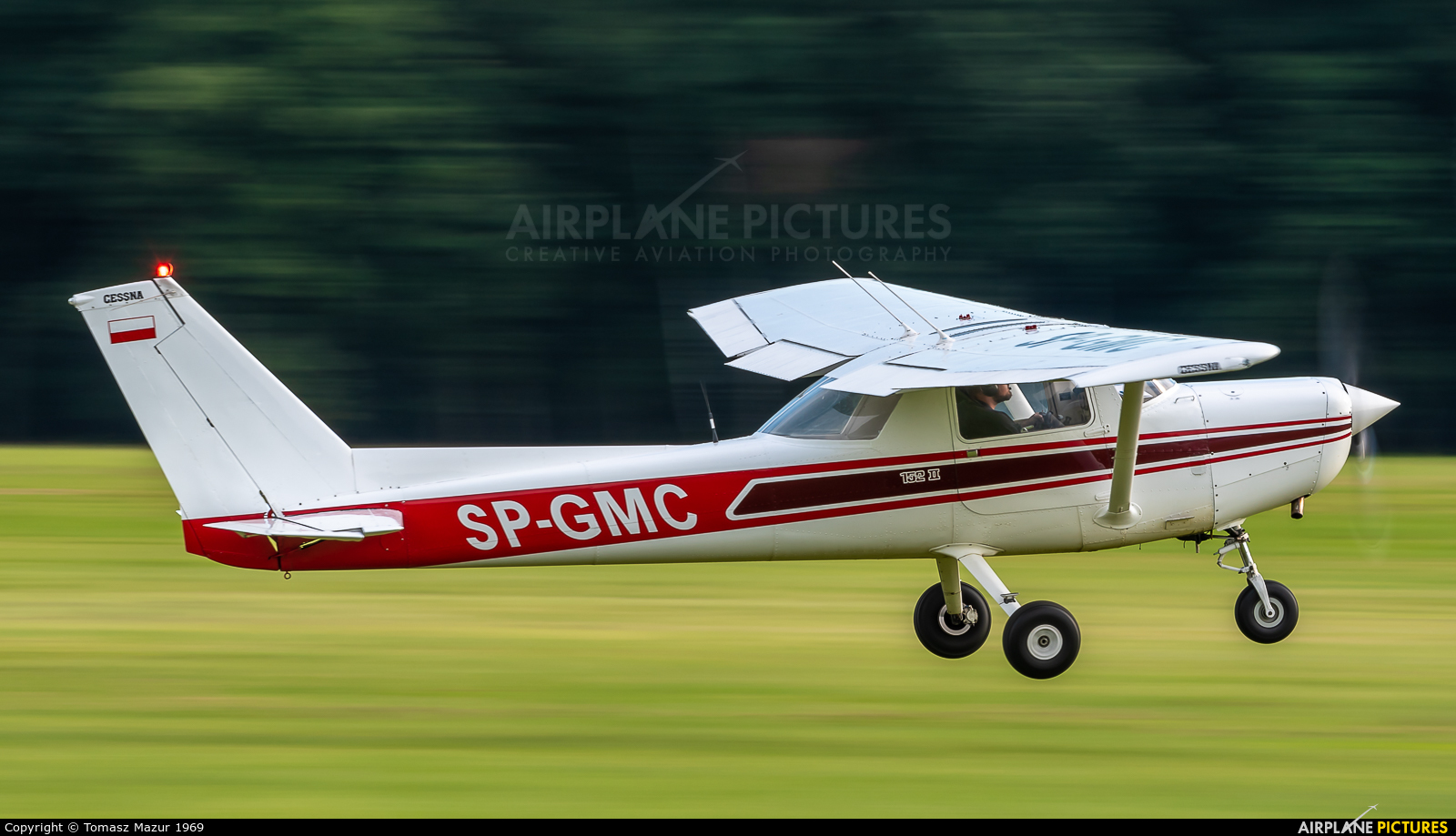 Private SP-GMC aircraft at Rybnik - Gotartowice