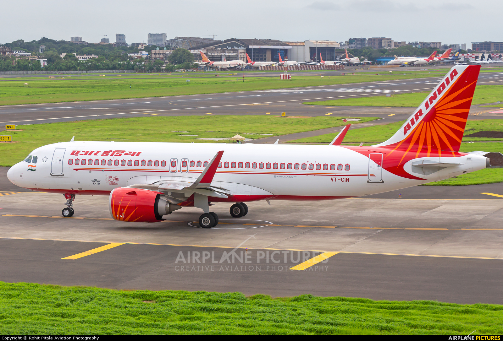 Air India VT-CIN aircraft at Mumbai - Chhatrapati Shivaji Intl