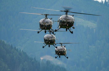 3E-KH - Austria - Air Force Sud Aviation SA-316 Alouette III