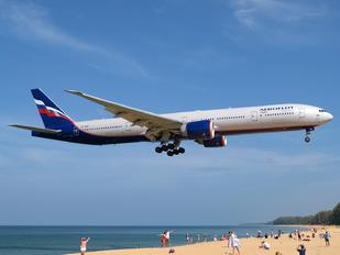 VQ-BQM - Aeroflot Boeing 777-300ER