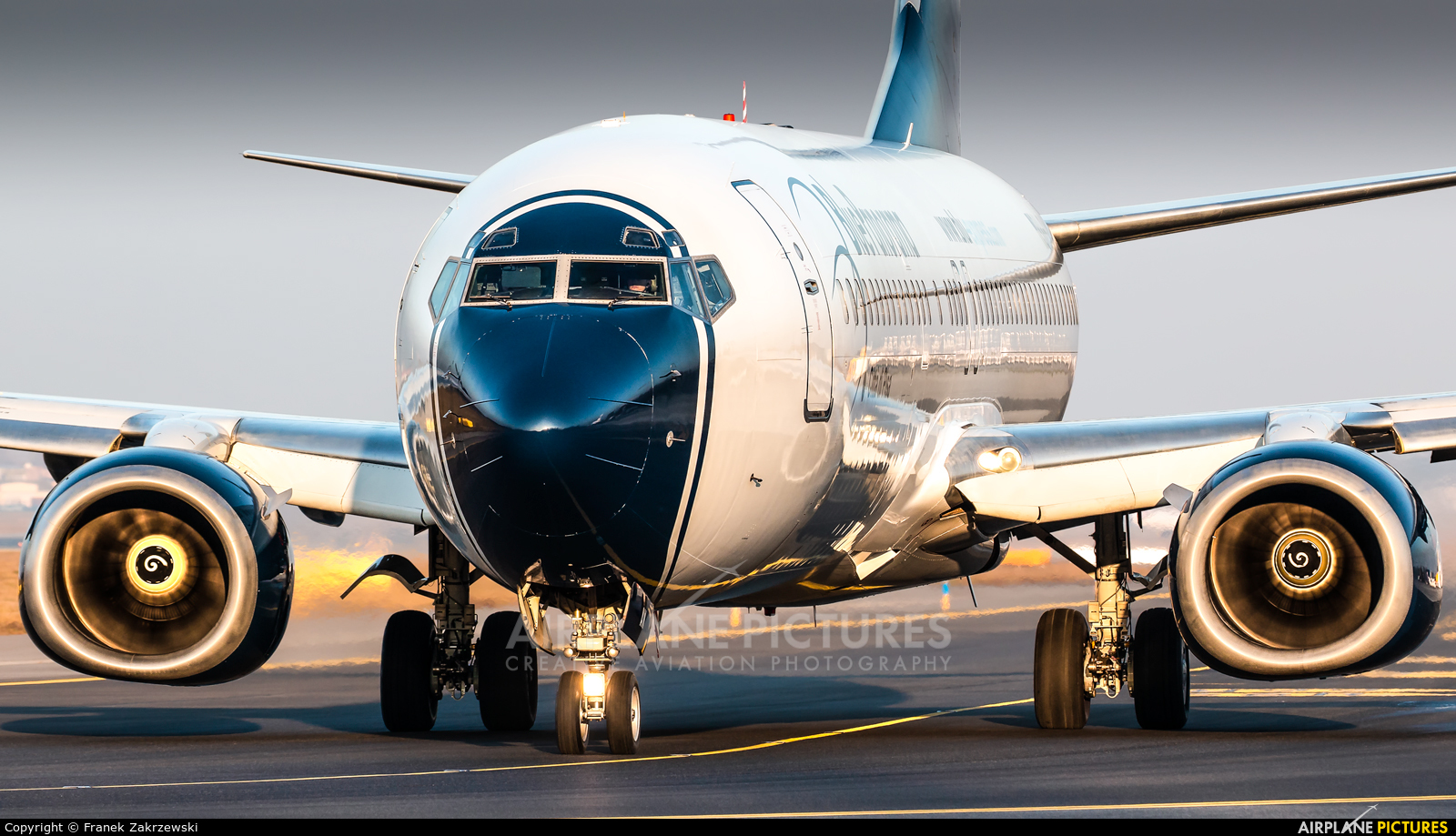 Blue Panorama Airlines 9H-GAW aircraft at Warsaw - Frederic Chopin