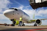 YL-AAR - Air Baltic Airbus A220-300 aircraft