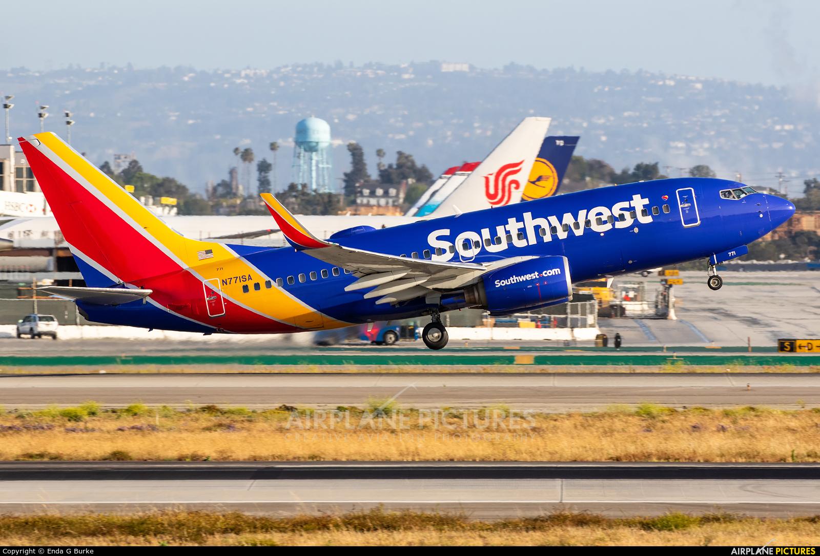 Southwest Airlines N771SA aircraft at Los Angeles Intl