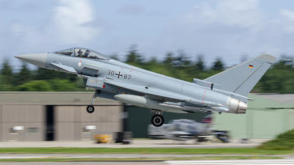 30+87 - Germany - Air Force Eurofighter Typhoon S