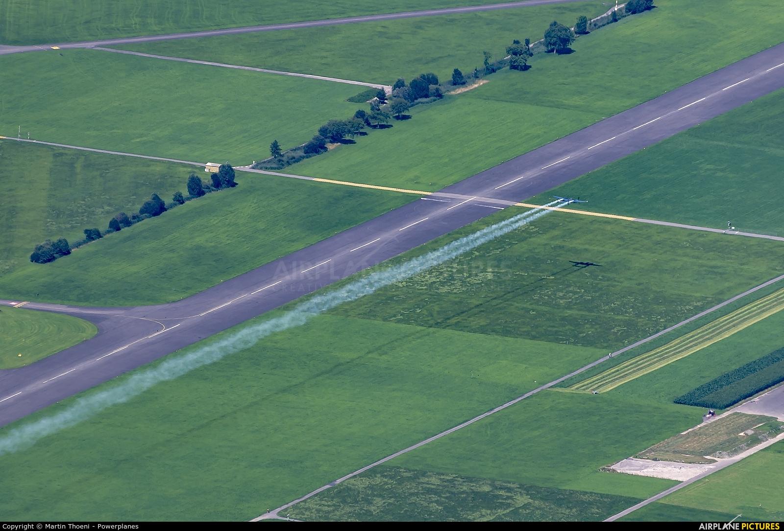 The Flying Bulls N25Y aircraft at Buochs