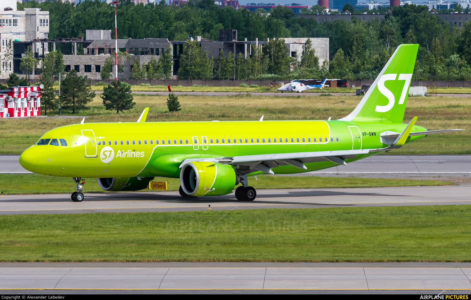 S7 Airlines VP-BWN aircraft at St. Petersburg - Pulkovo