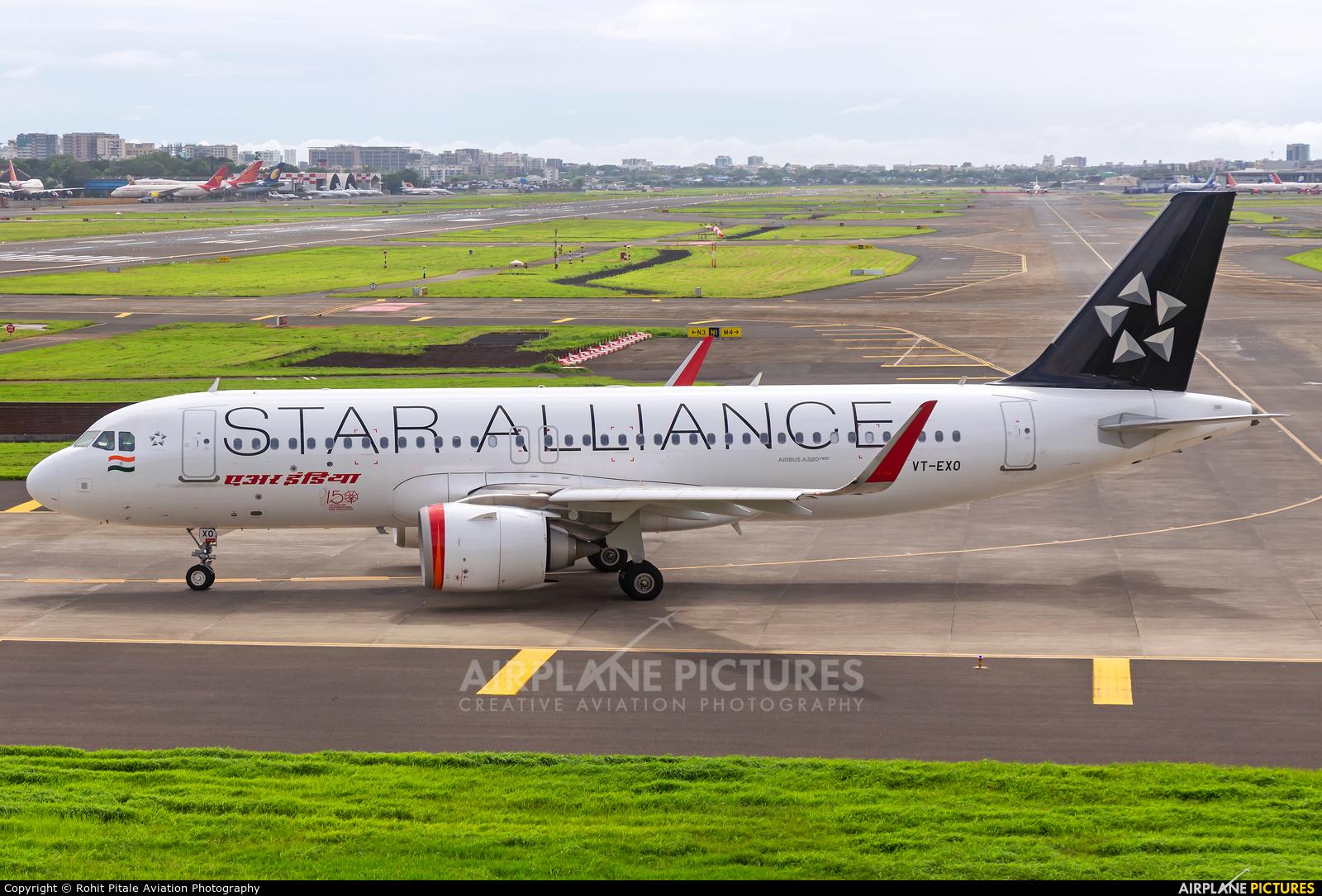 Air India VT-EXO aircraft at Mumbai - Chhatrapati Shivaji Intl