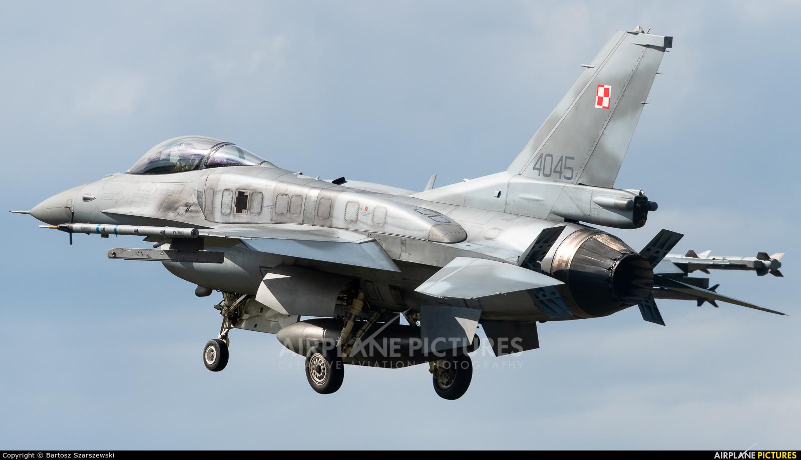 Poland - Air Force 4045 aircraft at Łask AB