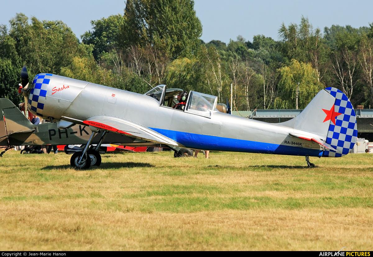 Private RA-3446K aircraft at Diest Schaffen