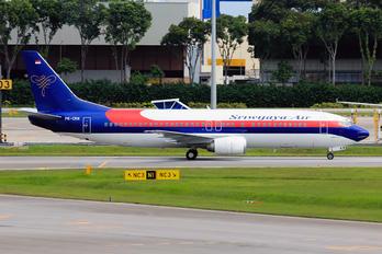 PK-CKN - Sriwajaya Air Boeing 737-400