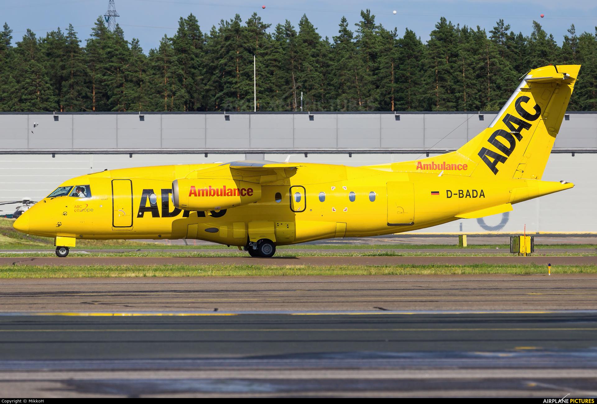 ADAC Luftrettung D-BADA aircraft at Helsinki - Vantaa