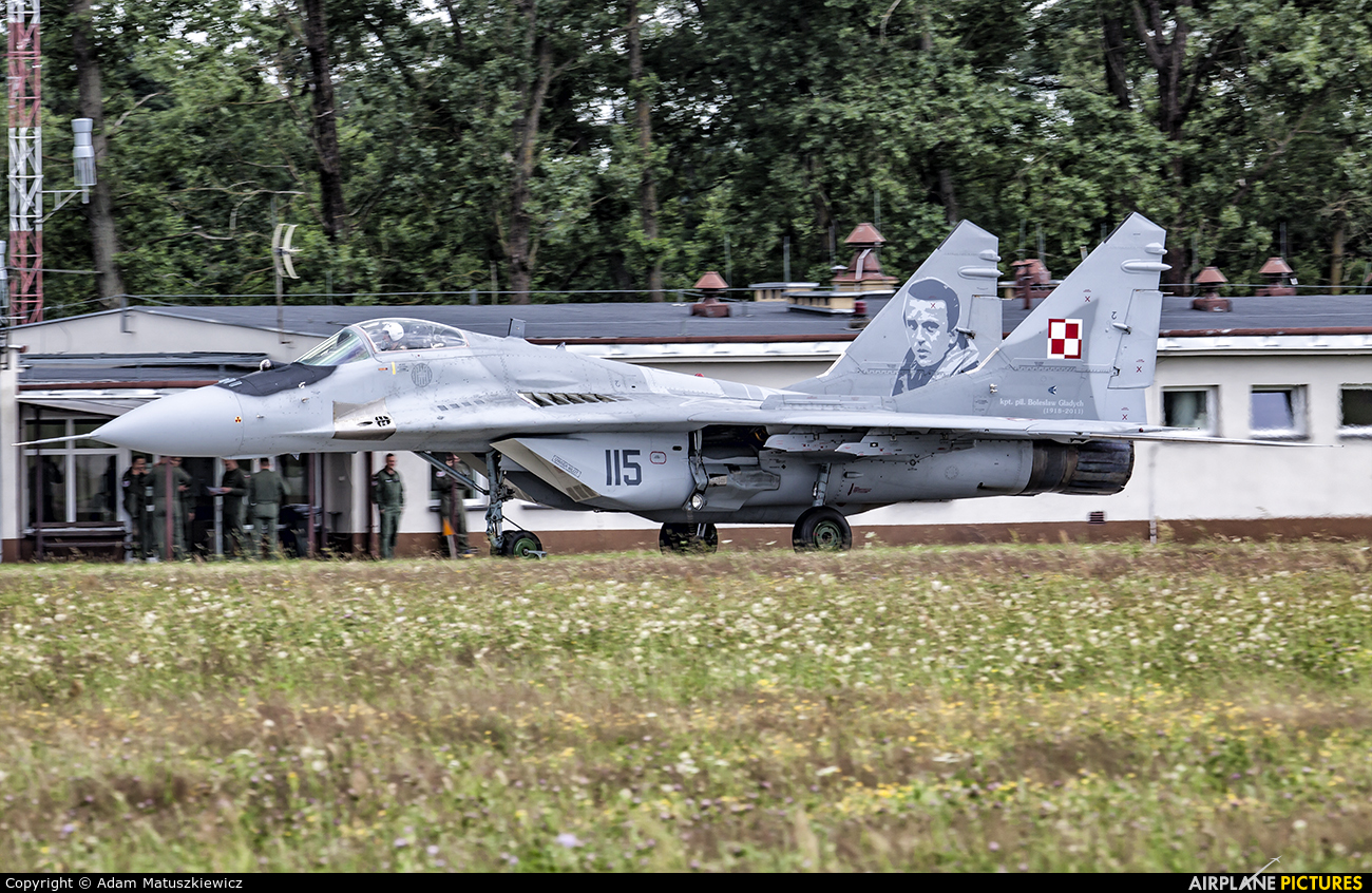 Poland - Air Force 115 aircraft at Mińsk Mazowiecki