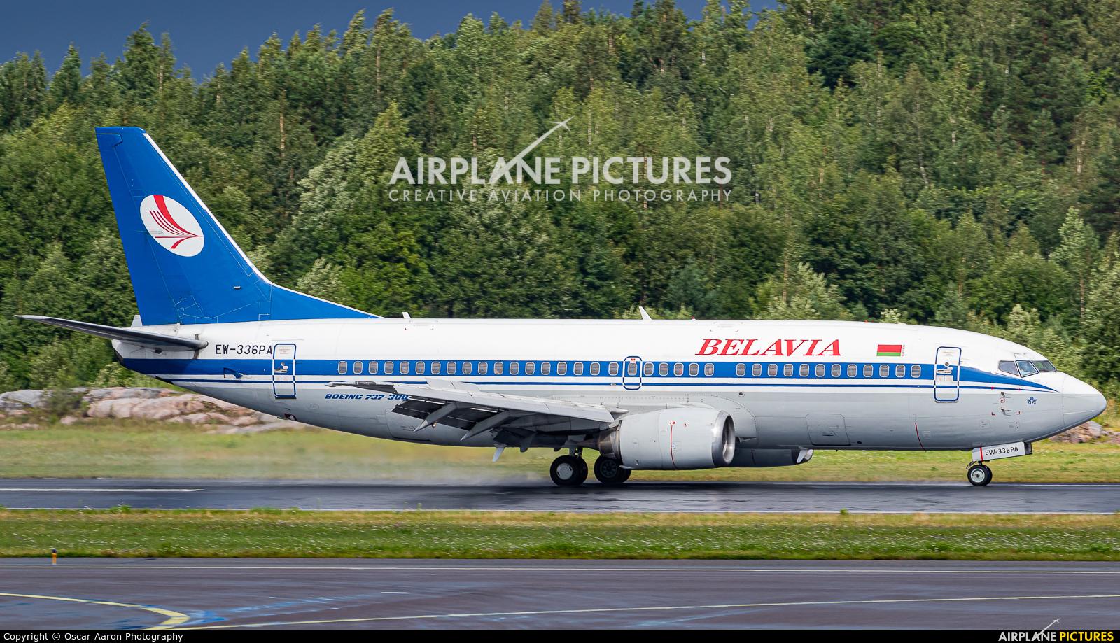 Belavia EW-336PA aircraft at Helsinki - Vantaa