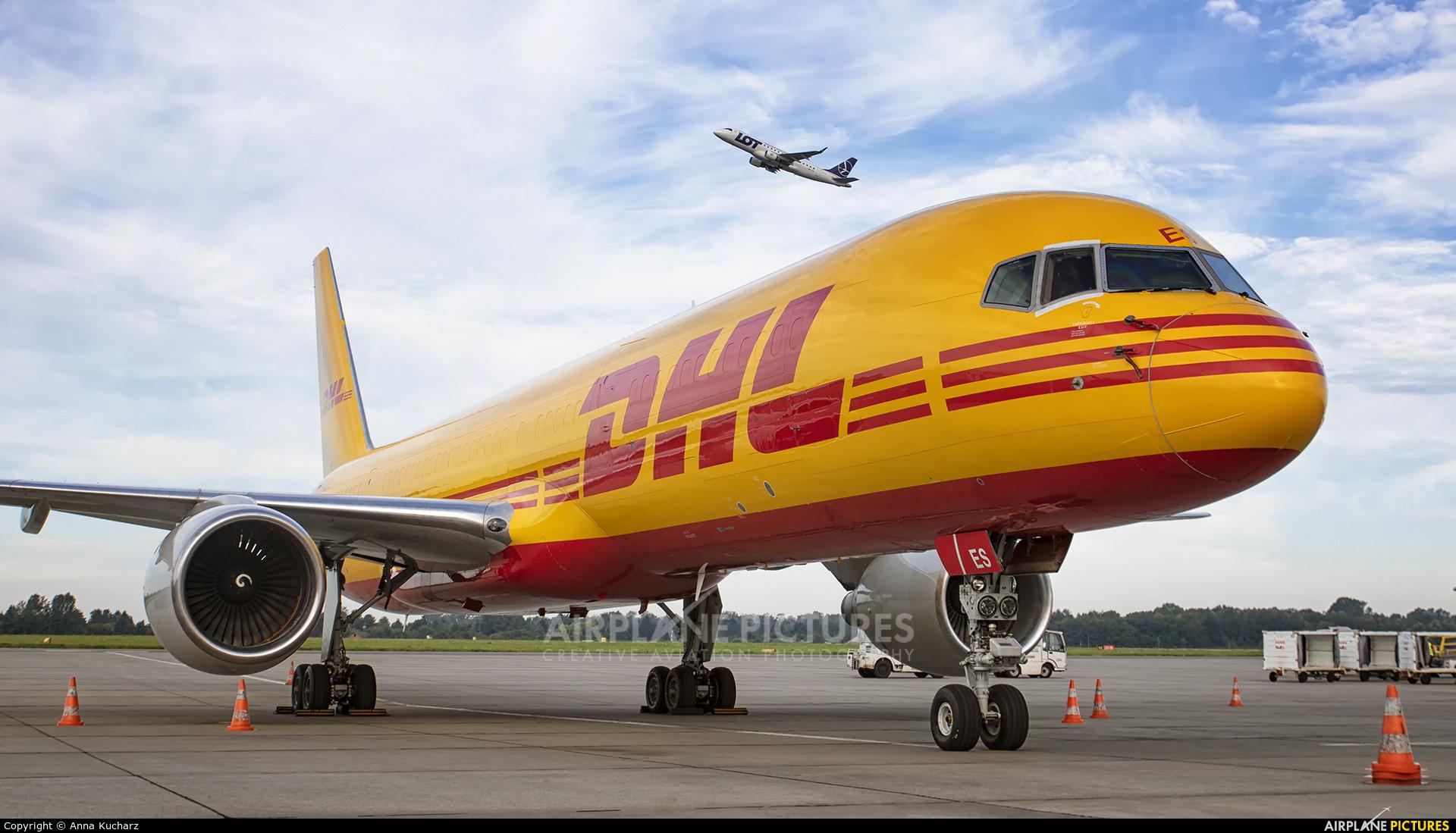 DHL Cargo D-ALES aircraft at Warsaw - Frederic Chopin