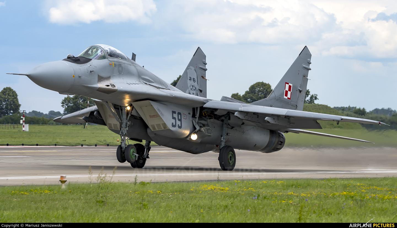 Poland - Air Force 59 aircraft at Malbork