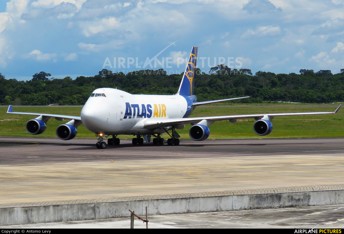Atlas Air N409MC aircraft at Manaus - Eduardo Gomes