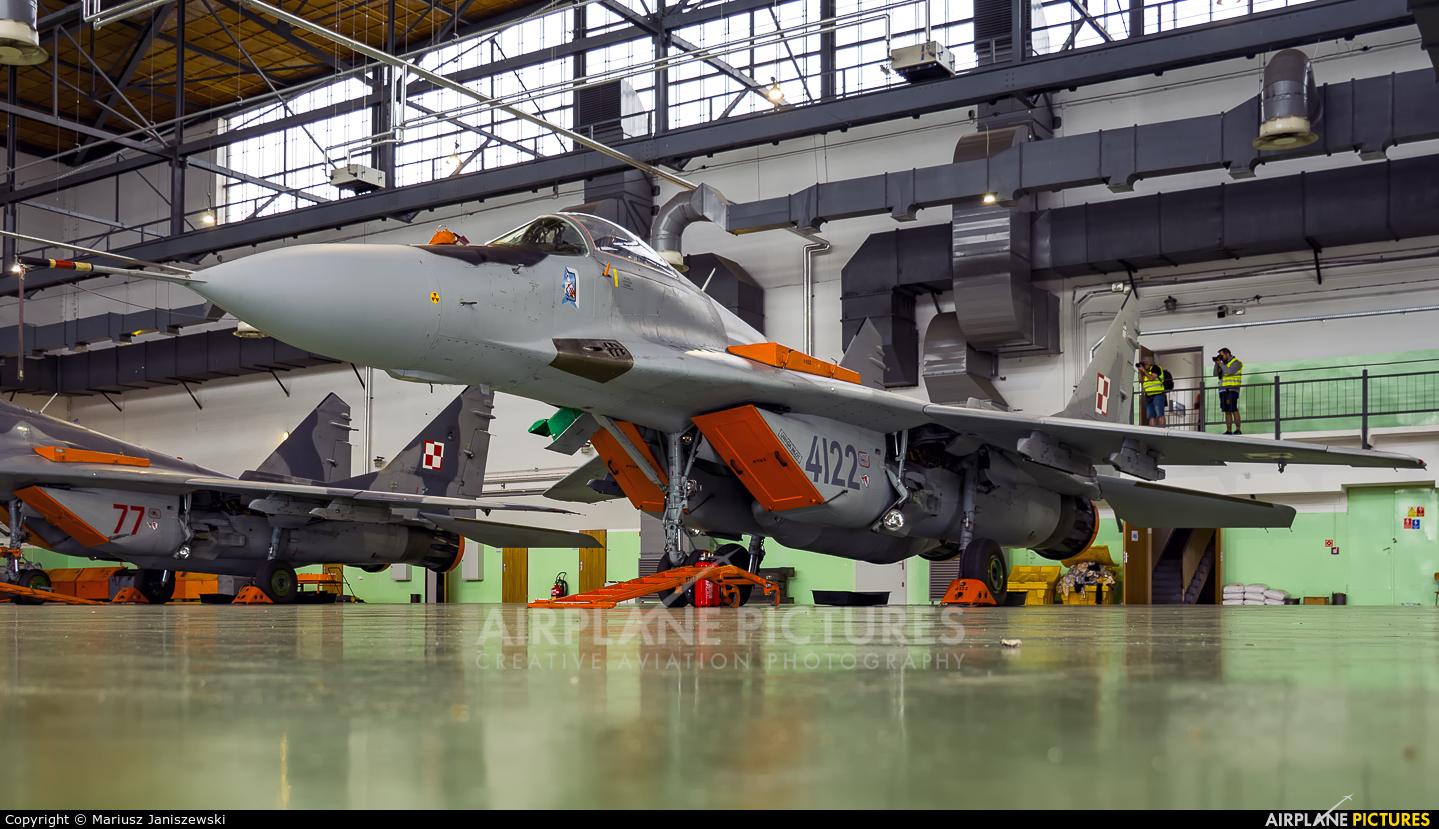 Poland - Air Force 4122 aircraft at Malbork