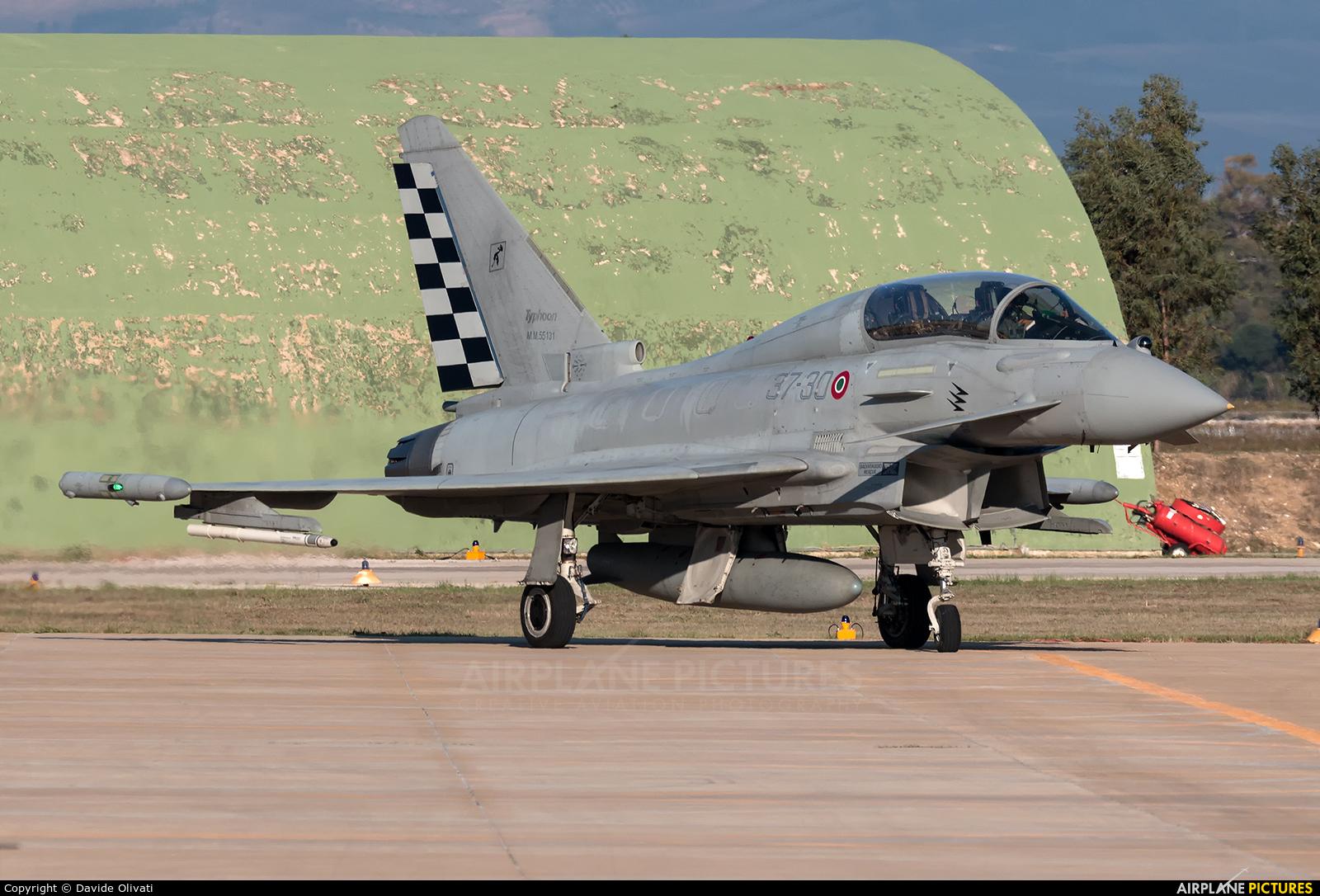 Italy - Air Force MM55131 aircraft at Trapani - Birgi