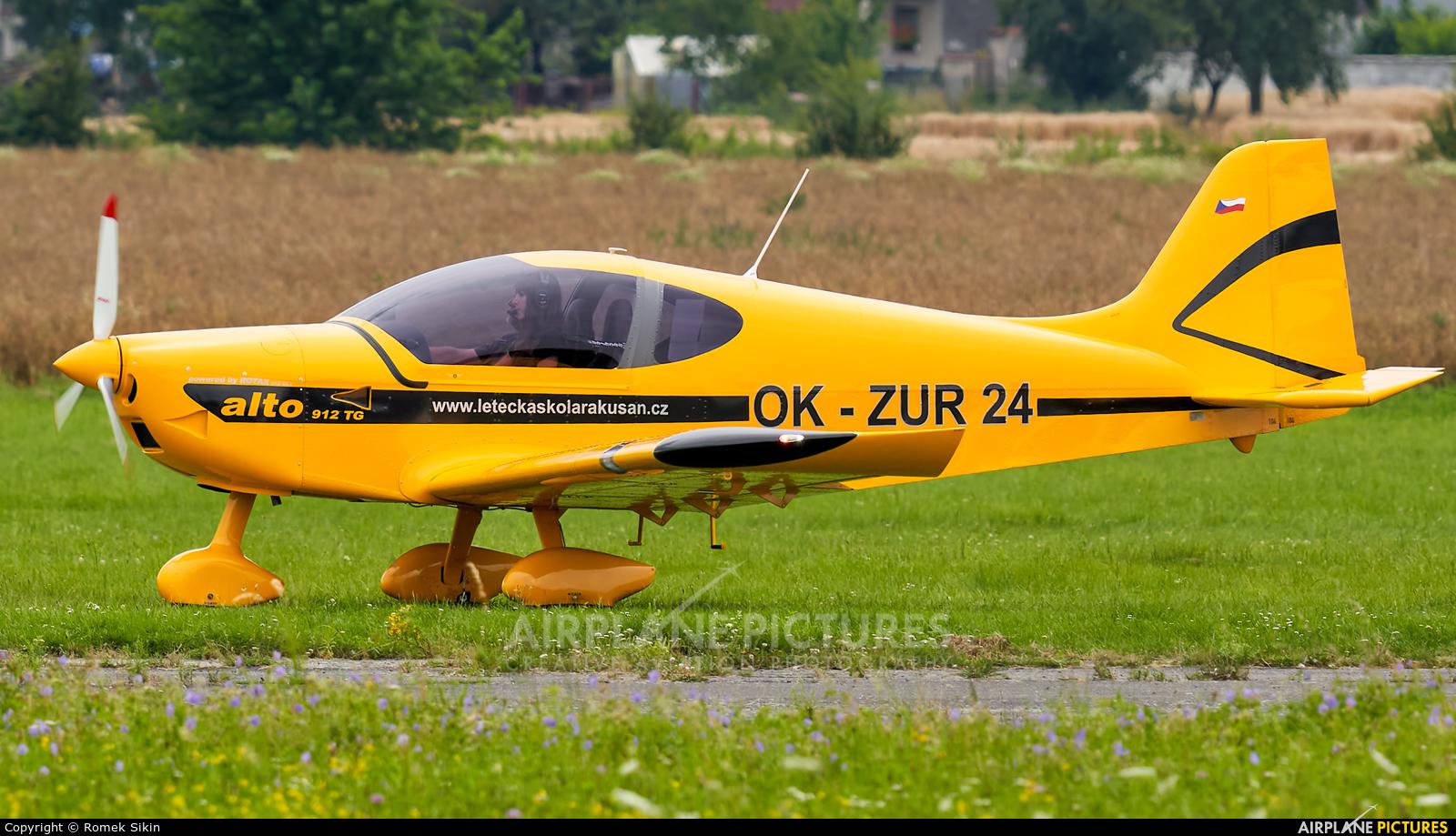 Private OK-ZUR24 aircraft at Zábřeh