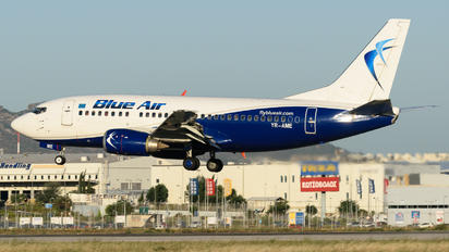 YR-AME - Blue Air Boeing 737-500
