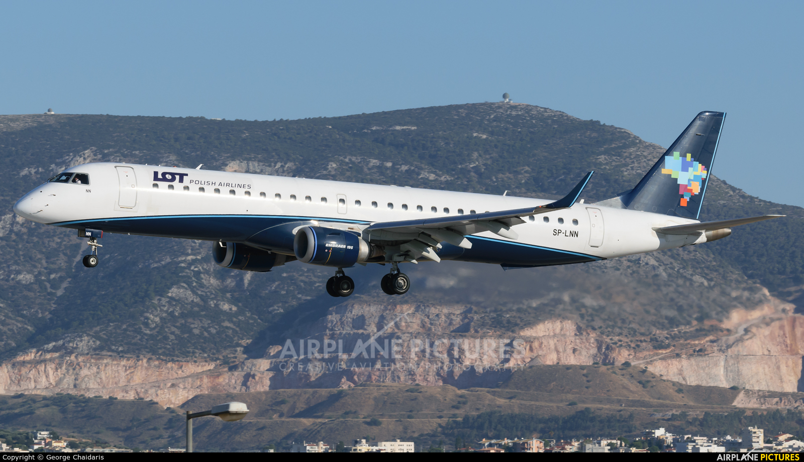 LOT - Polish Airlines SP-LNN aircraft at Athens - Eleftherios Venizelos