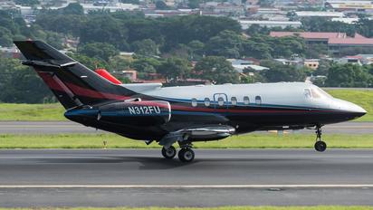 N312FU - IBC Airways Raytheon Hawker 800XP