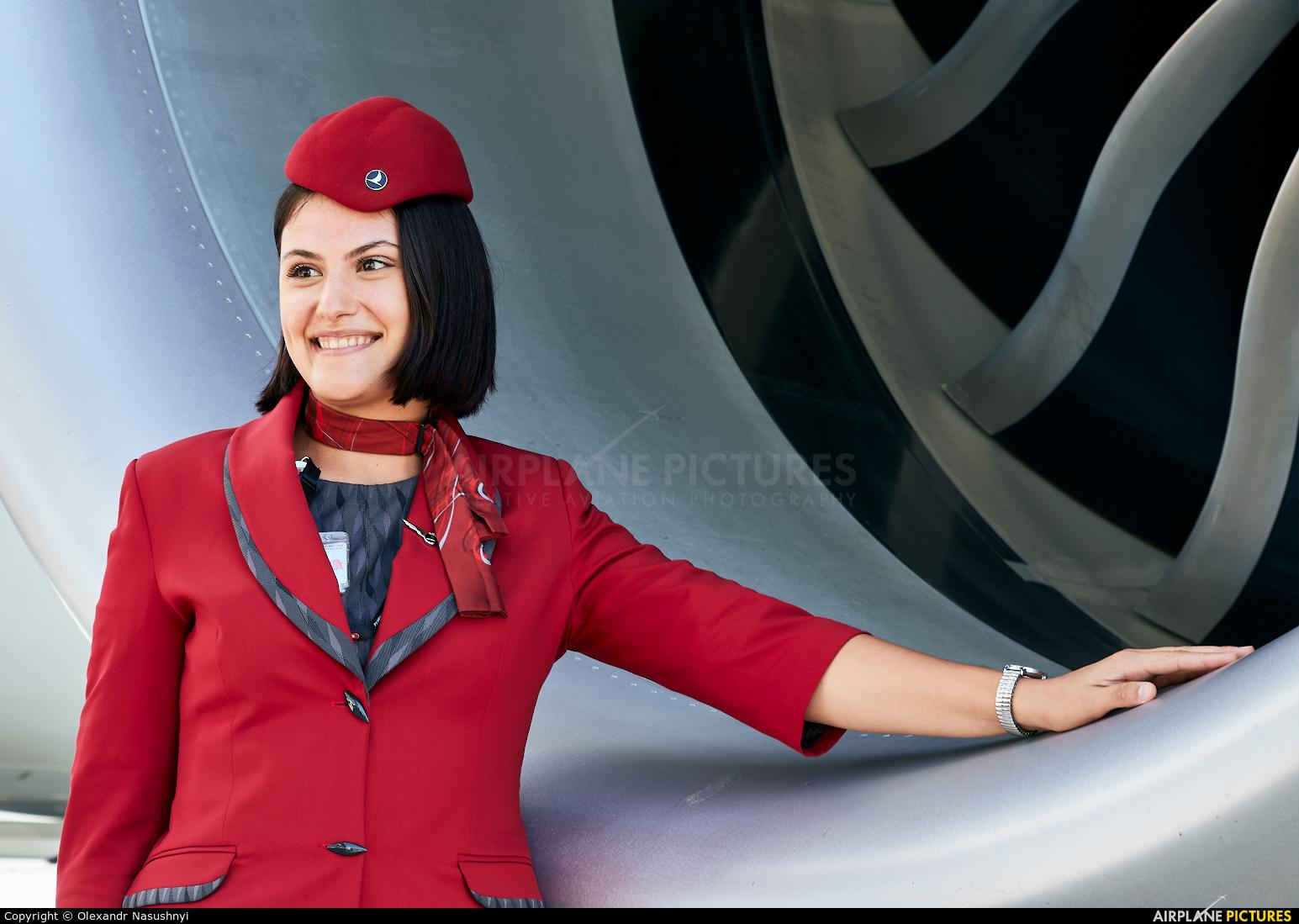 Turkish Airlines - aircraft at Kyiv - Borispol