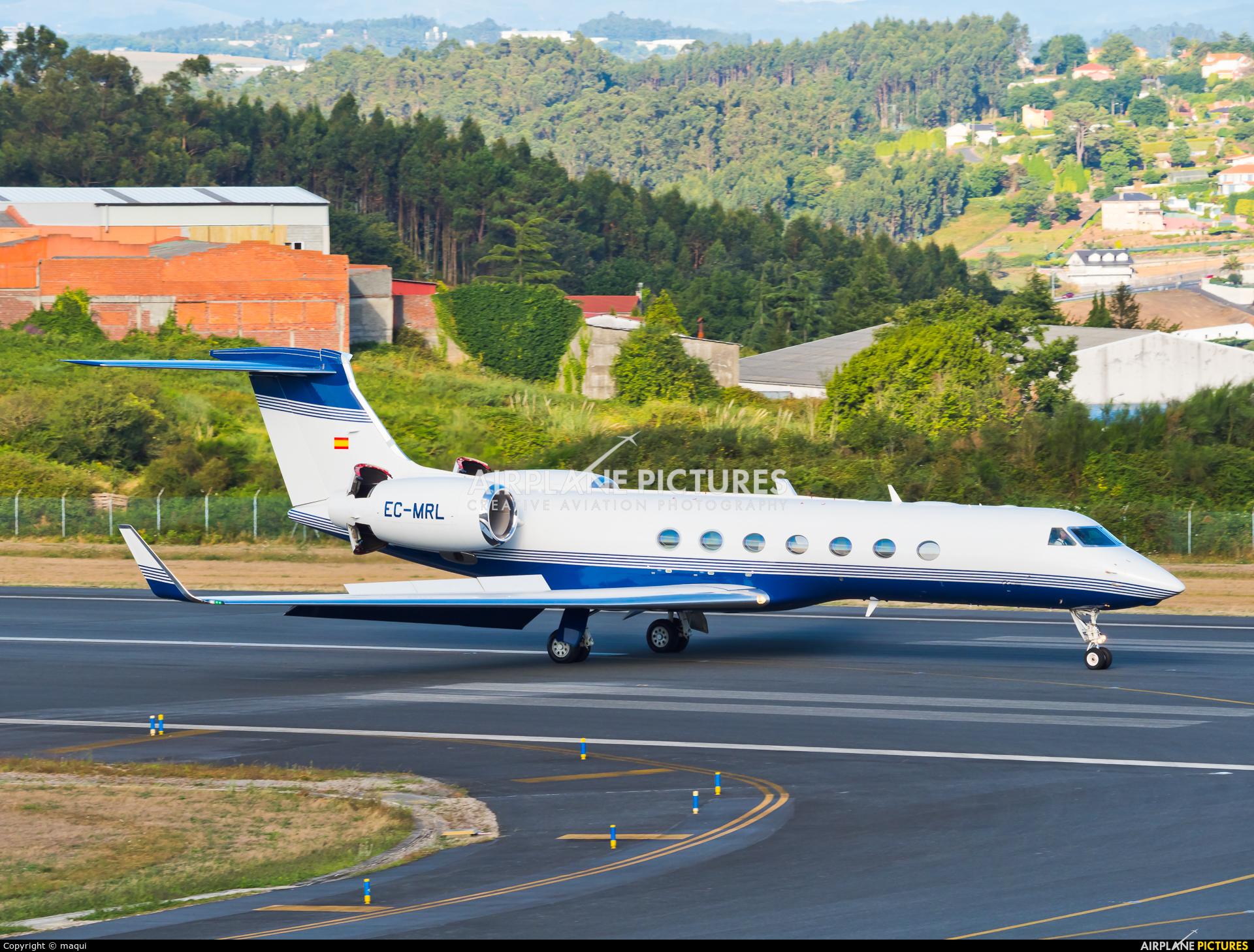 Gestair EC-MRL aircraft at La Coruña