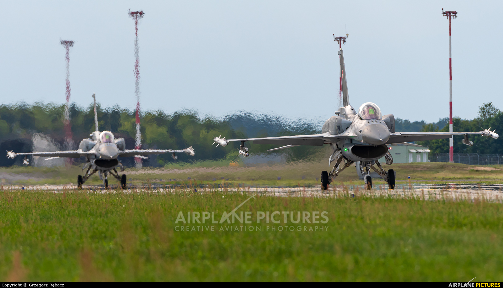Poland - Air Force 4066 aircraft at Łask AB