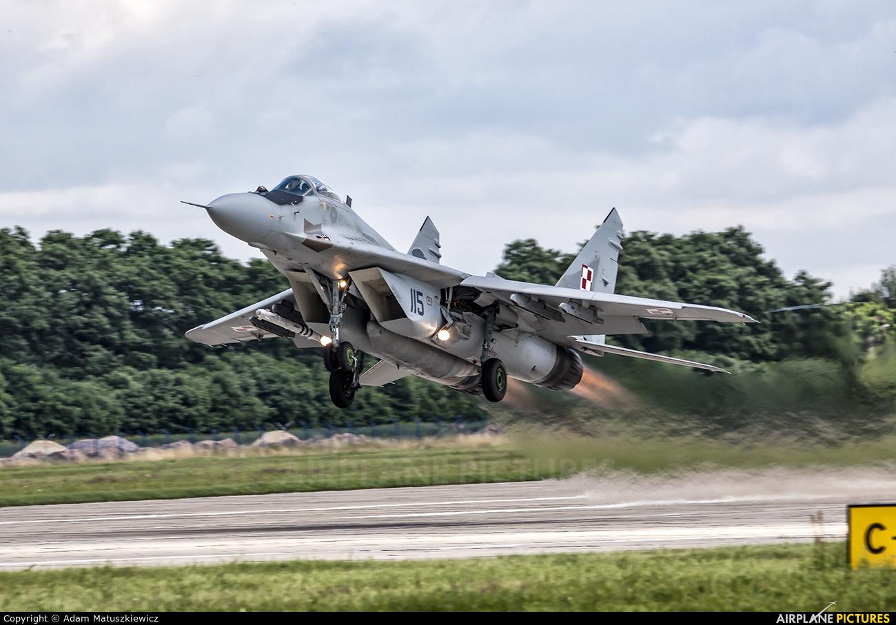 Poland - Air Force 115 aircraft at Mińsk Mazowiecki
