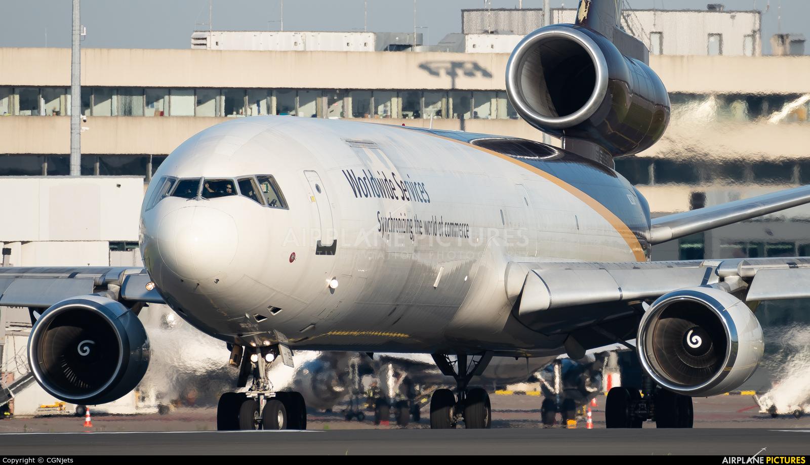 UPS - United Parcel Service N252UP aircraft at Cologne Bonn - Konrad Adenauer