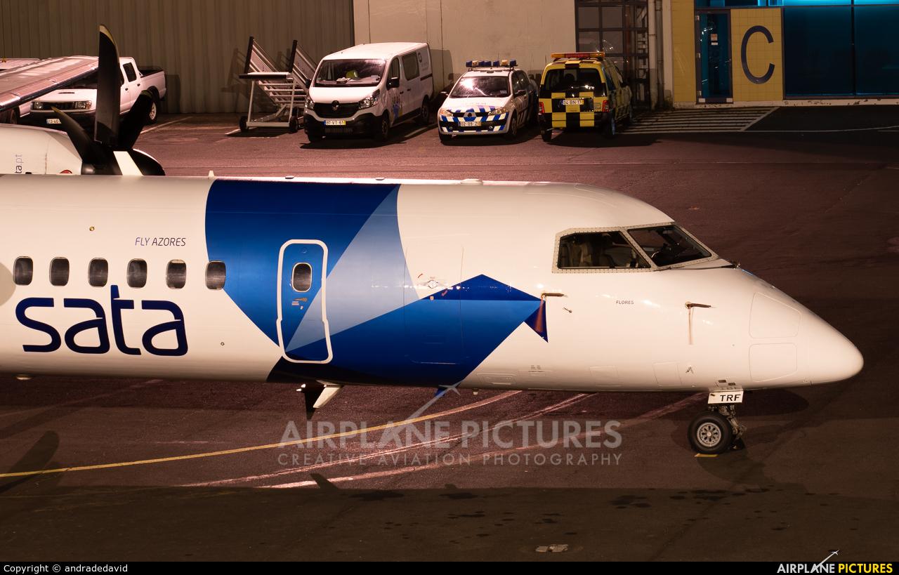 SATA Air Açores CS-TRF aircraft at Azores - Lajes