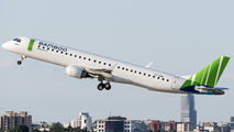First Embraer E195 for Bamboo title=