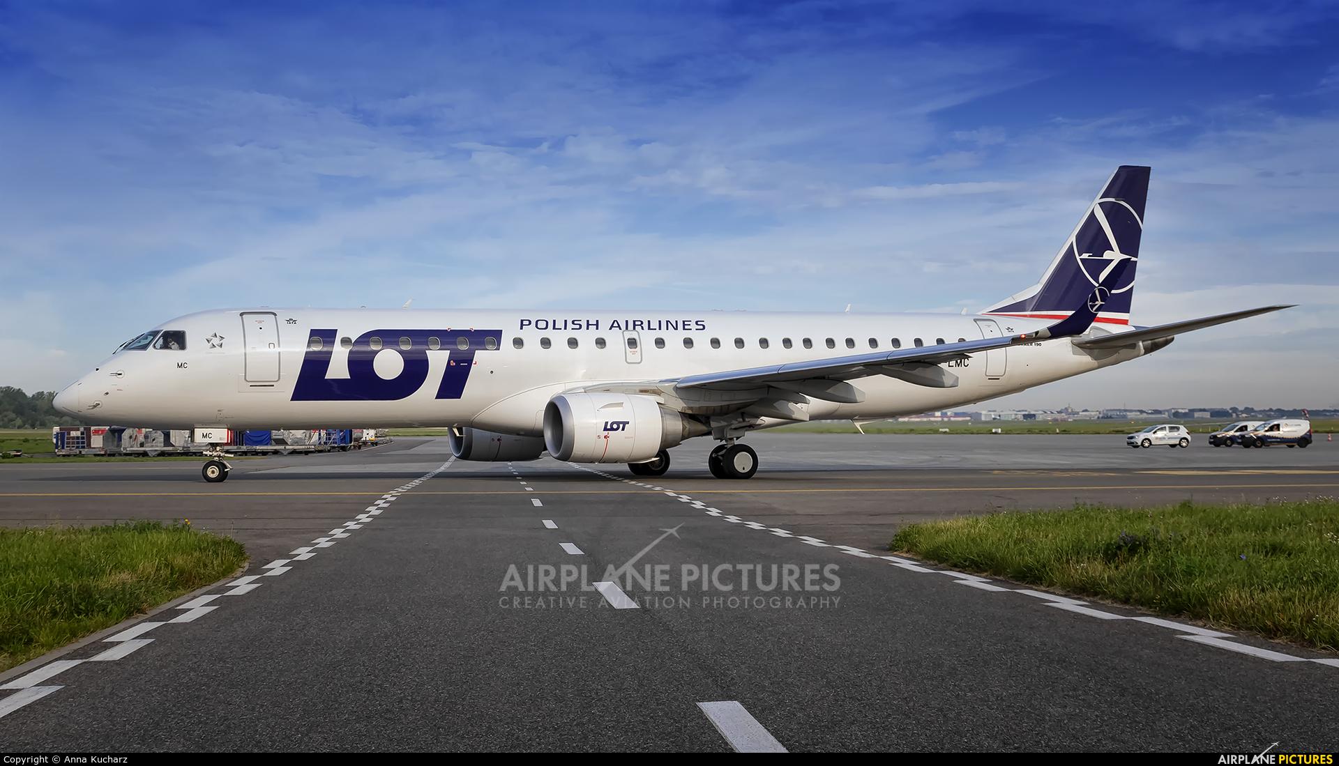 LOT - Polish Airlines SP-LNM aircraft at Warsaw - Frederic Chopin