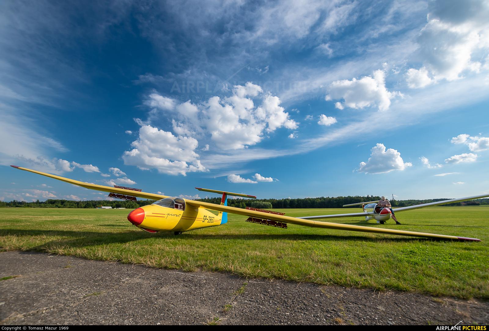 Aeroclub ROW SP-2680 aircraft at Rybnik - Gotartowice
