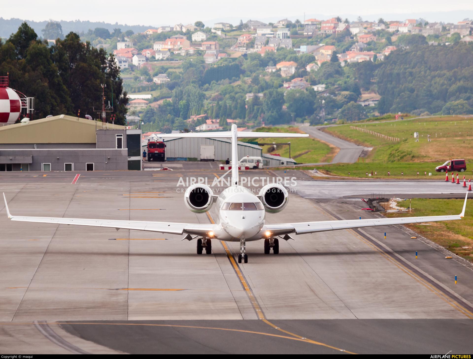 TAG Aviation EC-LTF aircraft at La Coruña