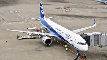 JA140A - ANA/ANK - Air Nippon Airbus A321 NEO