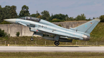 30+17 - Germany - Air Force Eurofighter Typhoon T
