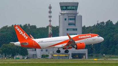 G-UZHP - easyJet Airbus A320 NEO